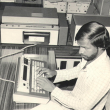 AIR Composing Department - 1980